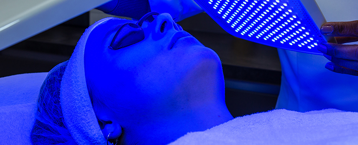 LED therapy huidbehandeling